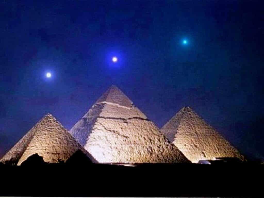 Allineamento delle piramidi con la Cintura di Orione