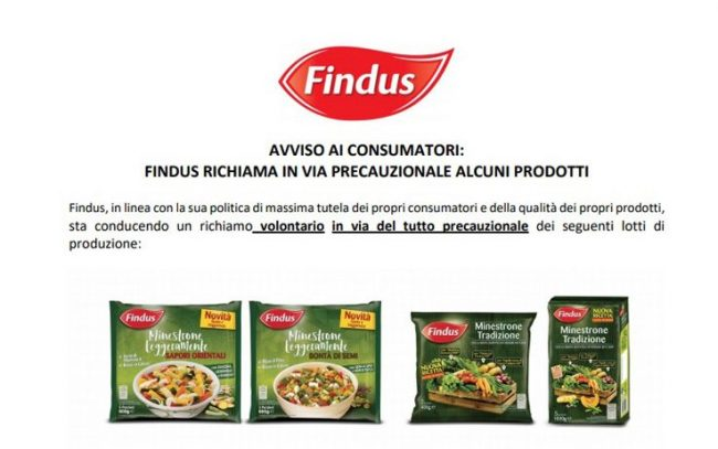 avviso Findus