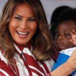 Melania Trump in visita verso i paesi Africani