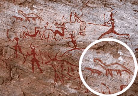 graffiti preistorici ritrovati in Kuwait, img. dal web