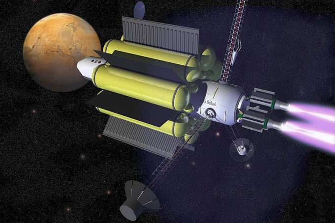 Vasimr il nuovo razzo a propulsione della Nasa