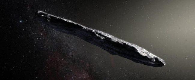 L'astrofisico Avi Loeb, Oumuamua è un potenziale oggetto alieno