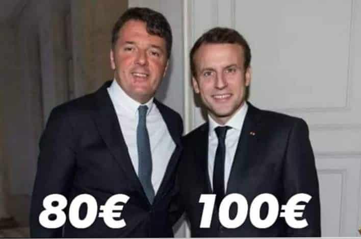 Renzi - Macron
