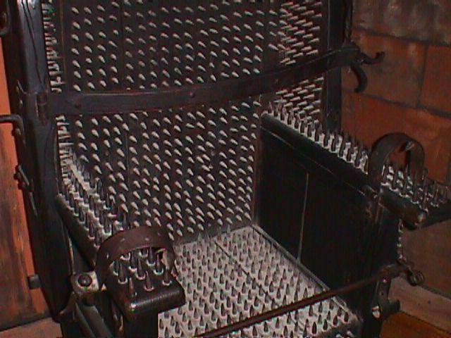 sedia delle streghe