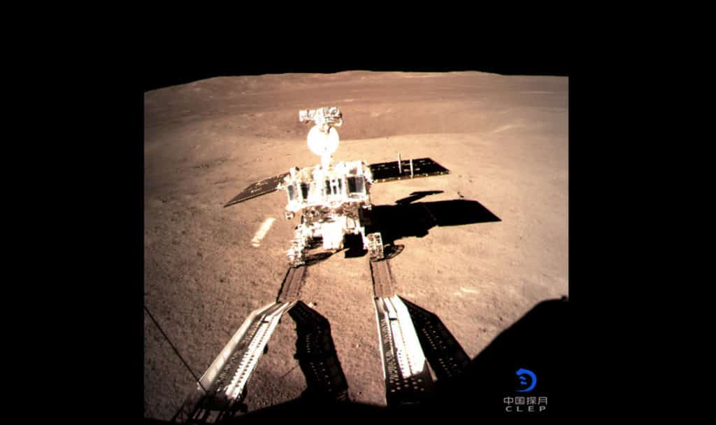 Chang'E-4, la sequenza video dell'allunaggio