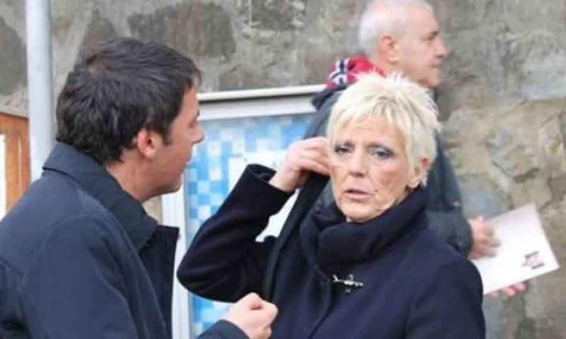 Laura Bovoli con il figlio Matteo Renzi