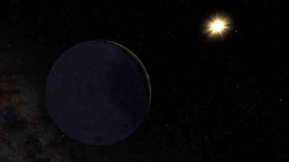 nuova luna su nettuno