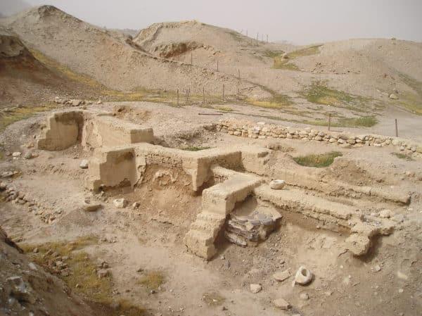 antiche rovine sul sito di gerico Gerico