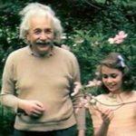 Albert Einstein e sua figlia