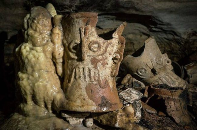Messico, tesoro Maya scoperto in un grotta