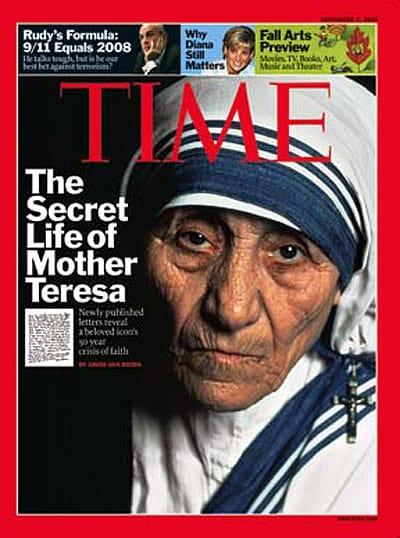 Madre Teresa sul Time