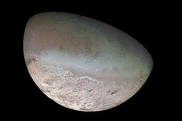 Tritone il satellite di Nettuno potrebbe ospitare un oceano e forse anche la vita