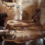 Sarcofagi ritrovati nei pressi di GIZA (Egitto)