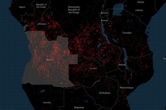 L'Africa brucia, più dell'Amazzonia, ma in pochi ne parlano