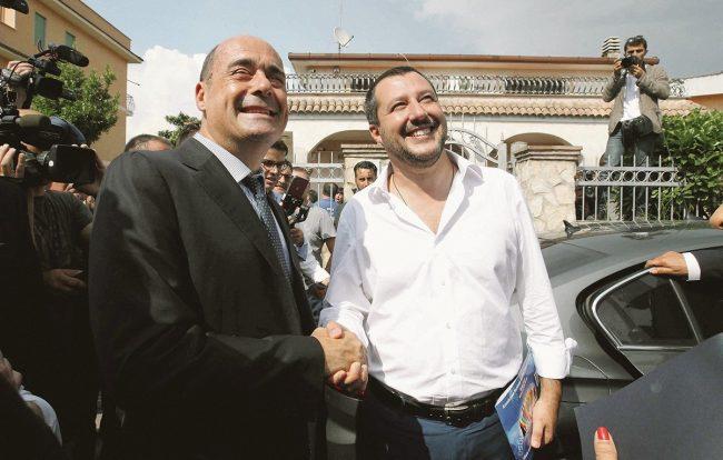 Mentana ha scoperto l'accordo Lega- PD per far cadere il governo