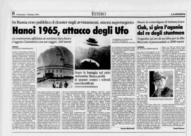 L'attacco UFO ai sovietici del 1965 nella base di Hanoi