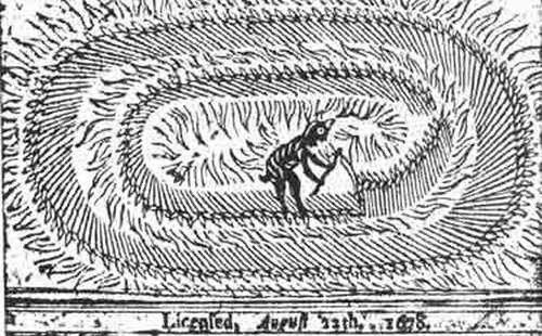 Il diavolo mietitore correlata ai cerchi nel grano