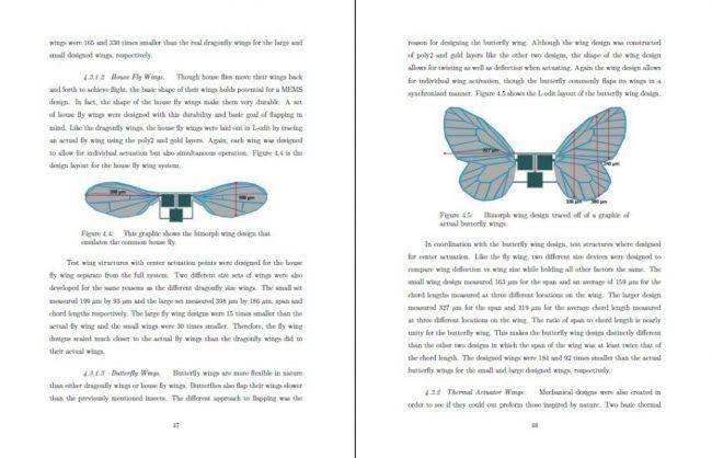 progetto Ornithopter