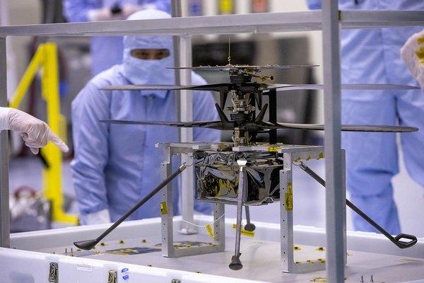Il Mars Helicopter della Nasa è pronto a volare su Marte