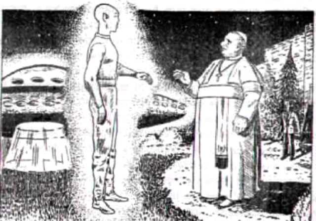 L'UFO di Papa Roncalli nel giardino di Castelgandolfo, 1961