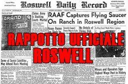Roswell, il rapporto ufficiale del Governo USA sul caso