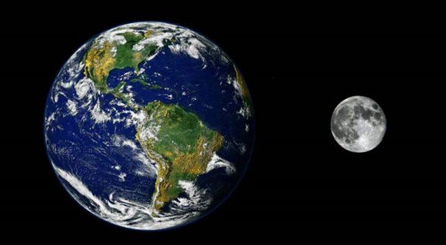 La Luna riesce a deformare la crosta terrestre, che muove i continenti