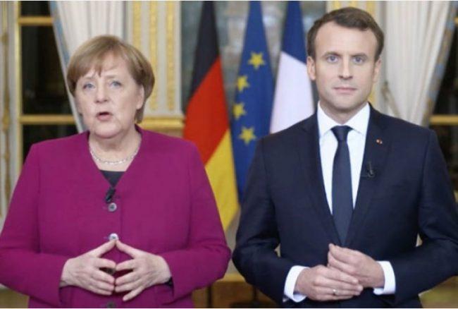 Merkel e Macron alla Ue: prepariamoci alla prossima pandemia