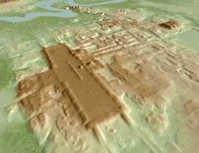 Nuova scoperta in Messico, un esteso complesso Maya di 3000 anni