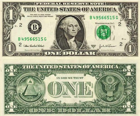 banconota da un dollaro